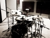 Recording drums for Spiral's new album